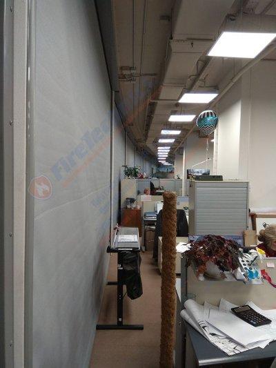 Противопожарная штора EI60 без орошения