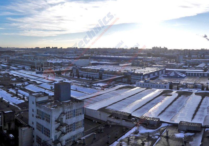 противопожарные шторы на склад в Санкт-Петербурге