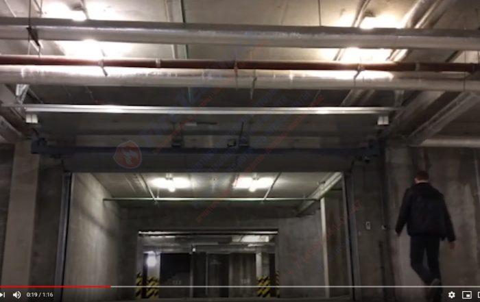 Секционные противопожарные ворота FireTechnics S EI60